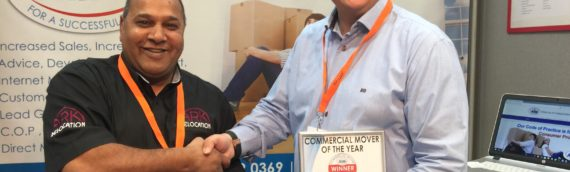 Ark Relocation Proud Winners of Commercial Mover of the year 2017-18